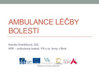 Ambulance l�?by bolesti