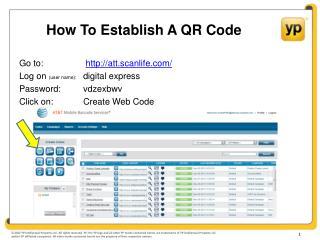 How To Establish A QR Code