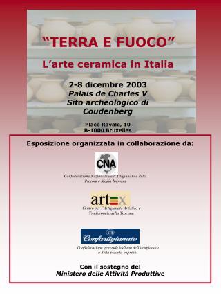 L�arte ceramica in Italia
