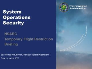 System  Operations  Security