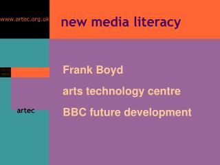 new media literacy