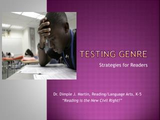 Testing genre