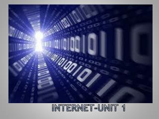 Internet-Unit 1