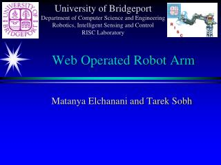 Web Operated Robot Arm