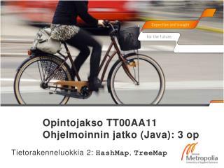 Opintojakso TT00AA11 Ohjelmoinnin jatko (Java): 3 op