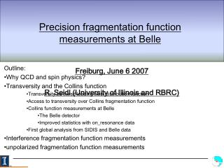 Precision fragmentation function measurements at Belle