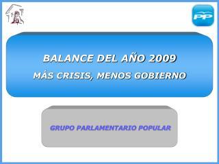 GRUPO PARLAMENTARIO POPULAR
