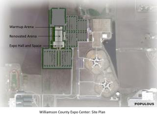 Williamson County Expo Center: Site Plan