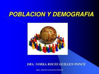 POBLACION Y DEMOGRAFIA