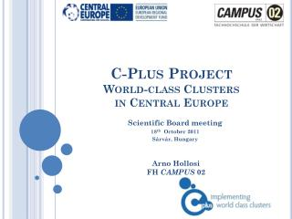 C-Plus Project World-class Clusters  in Central Europe