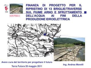 Avere cura del territorio per progettare il futuro Terra Futura 20 maggio 2011