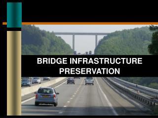 BRIDGE INFRASTRUCTURE PRESERVATION