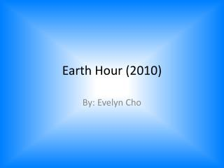 Earth Hour (2010)
