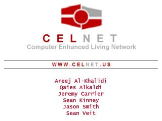 Areej Al-Khalidi Qaies Alkaldi Jeremy Carrier Sean Kinney Jason Smith Sean Veit