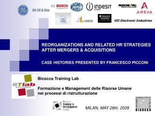 Bicocca Training Lab Formazione e Management delle Risorse Umane  nei processi di ristrutturazione