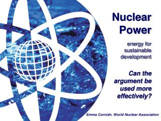 Nuclear Power energy for  sustainable  development