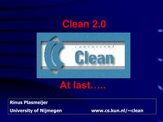 Clean 2.0