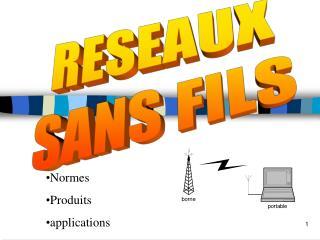 RESEAUX SANS FILS