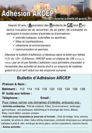 Depuis 30 ans, l' A ssociation des  R ésidents de  CE ntral P arc