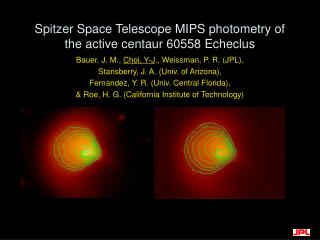 Spitzer Space Telescope MIPS photometry of the active centaur 60558 Echeclus