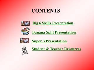 Big 6 Skills Presentation