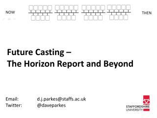 Email: d.j.parkes@staffs.ac.uk Twitter: @ daveparkes