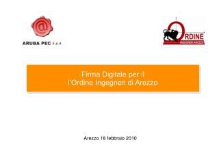 Arezzo 18 febbraio 2010