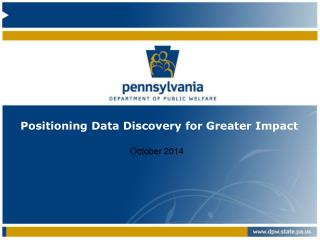 Positioning Data Discovery for Greater Impact