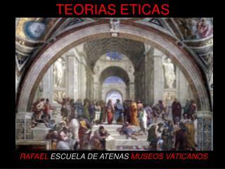 RAFAEL  ESCUELA DE ATENAS MUSEOS VATICANOS