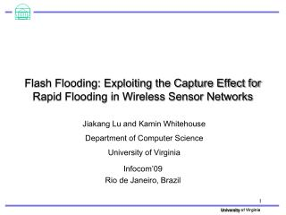 Flash Flooding: Exploiting the Capture Effect for Rapid Flooding in Wireless Sensor Networks