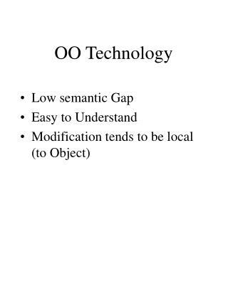 OO Technology