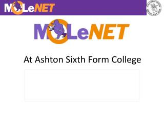 At Ashton Sixth Form College