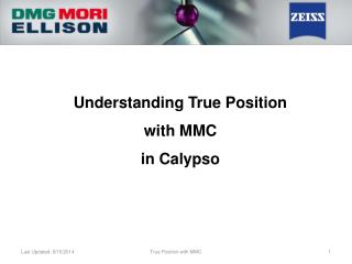 Understanding True Position  with MMC  in Calypso