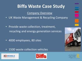 Biffa Waste Case Study