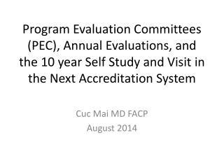 Cuc Mai MD FACP August 2014