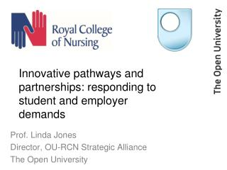 Innovative pathways and partnerships: responding to student and employer demands