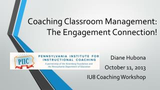 Coaching Classroom Management: The Engagement Connection!