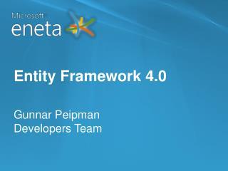 Entity Framework 4.0