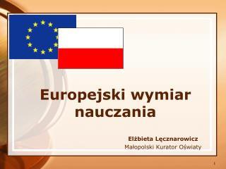 Europejski wymiar nauczania