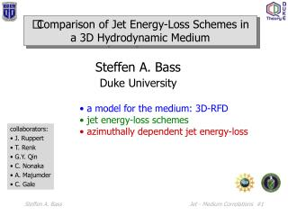Comparison of Jet Energy-Loss Schemes in a 3D Hydrodynamic Medium