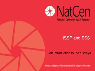 ISSP and ESS