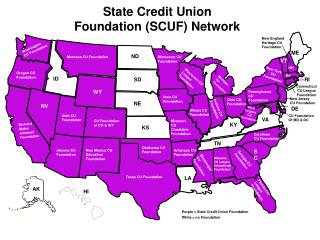 State Credit Union Foundation (SCUF) Network