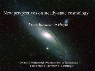 The Big Bang:  Fact or Fiction?