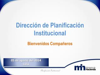 Dirección de Planificación Institucional