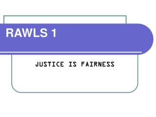 RAWLS 1