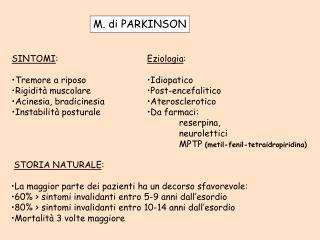 M. di PARKINSON