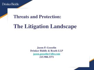 Threats and Protection: The Litigation Landscape