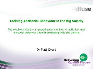 Dr Matt Overd