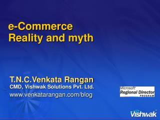 e-Commerce  Reality and myth