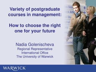 Variety of postgraduate courses in management:  How to choose the right one for your future